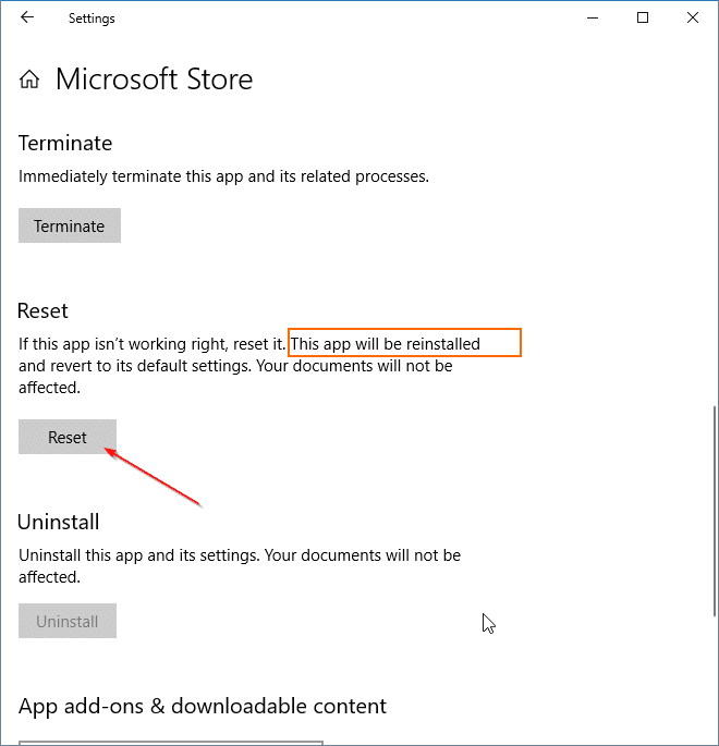 reinstall Store app in windows 10 pic2