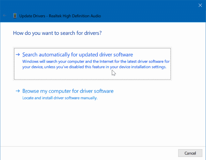 update device drivers in Windows 10 pic1