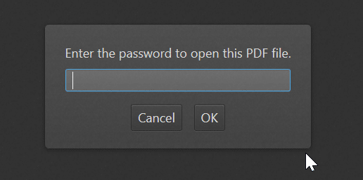 remove password from PDF file in Windows 10 pic1