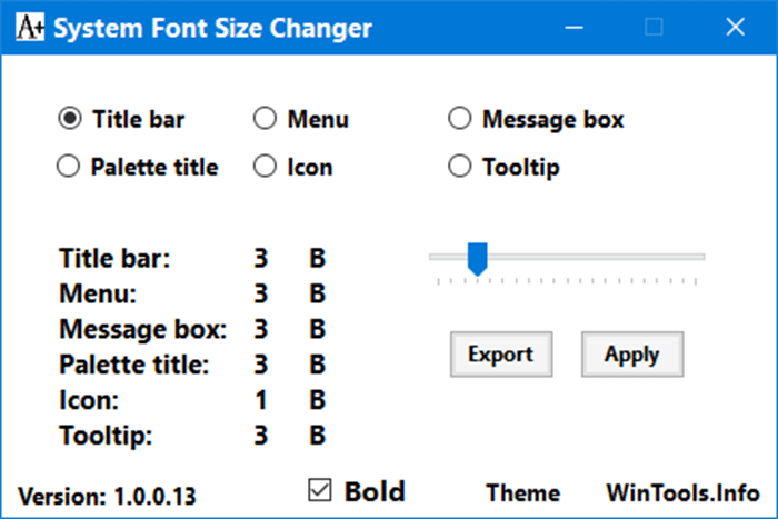 change the text size in windows 10 pic02