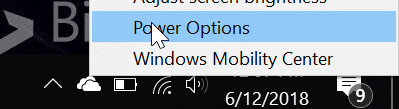 screen brightness not increasing in Windows 10 pic1