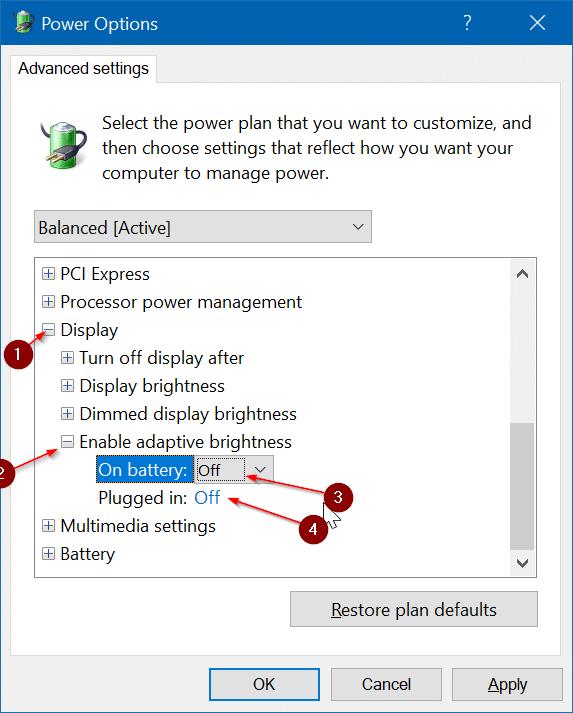 screen brightness not increasing in Windows 10 pic4
