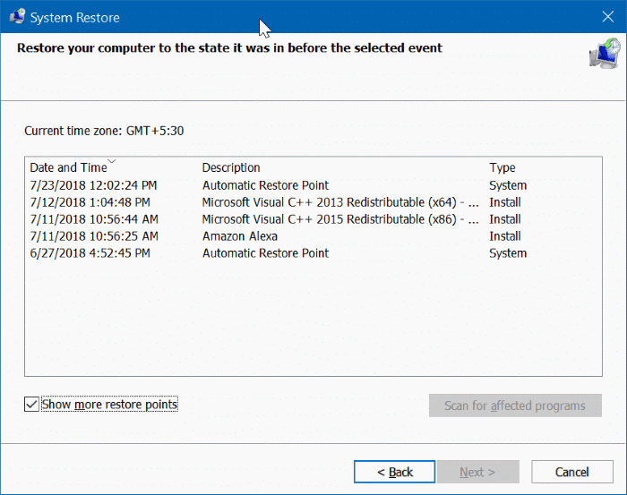 File explorer not working in Windows 10 pic3