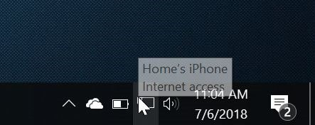 How To Connect Windows 10 PC To iPhone Hotspot