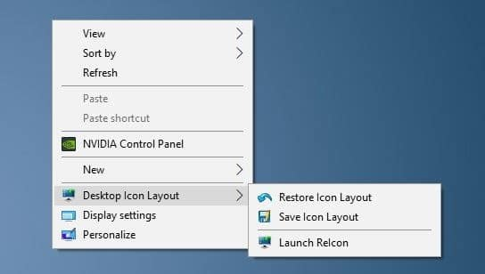free tools to save and restore desktop icon positions in Windows 10 pic3