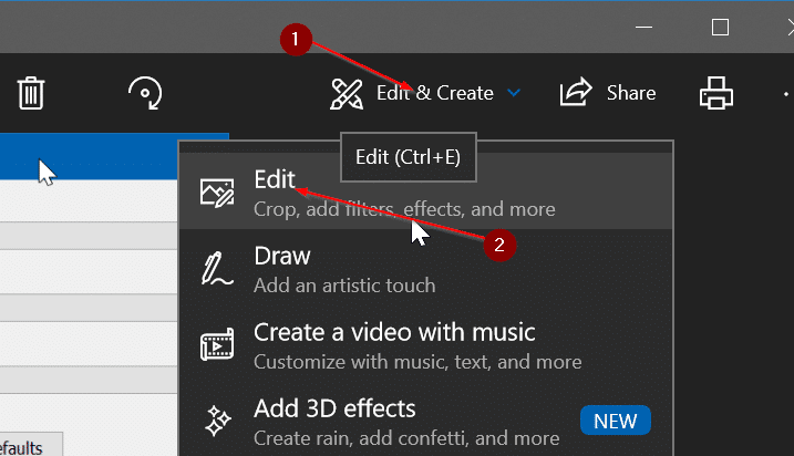 How To Crop Pictures With Photos App In Windows 10