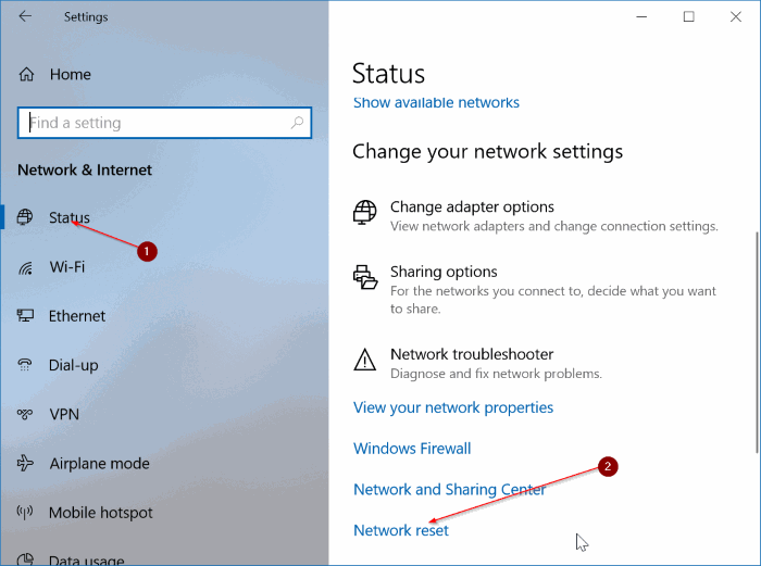 how to connect to wifi after changing password windows 10
