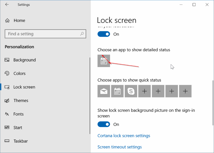 disable birthday notifications in Windows 10 pic3