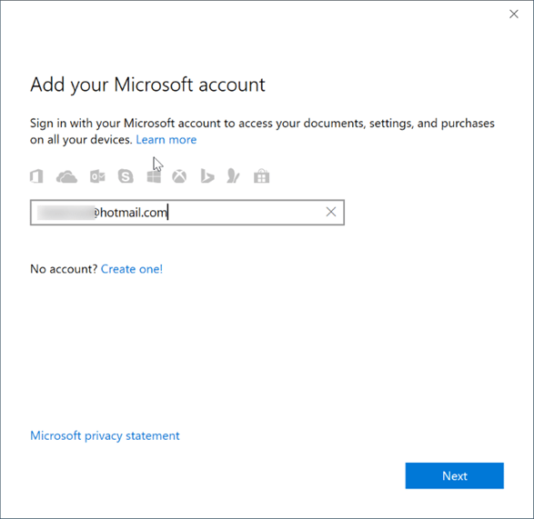 Sign in or sign out of Sticky notes in Windows 10 pic2