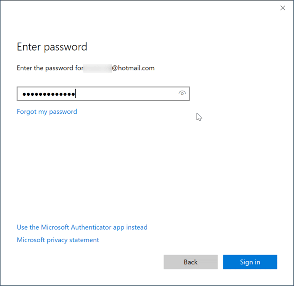 Sign in or sign out of Sticky notes in Windows 10 pic3