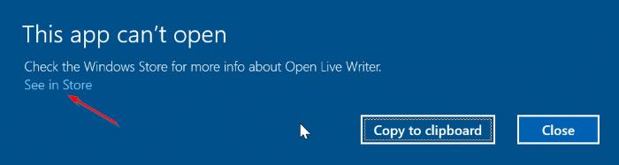 Fix: \u201cThis App Can\u0027t Open. Check Windows Store For More Info\u201d Error