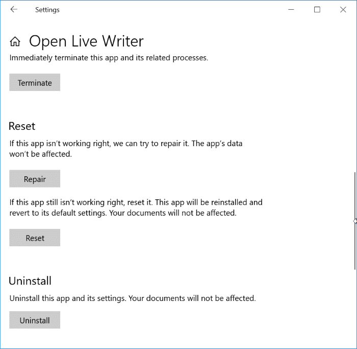 This app can't open check windows store for more info error in windows 10