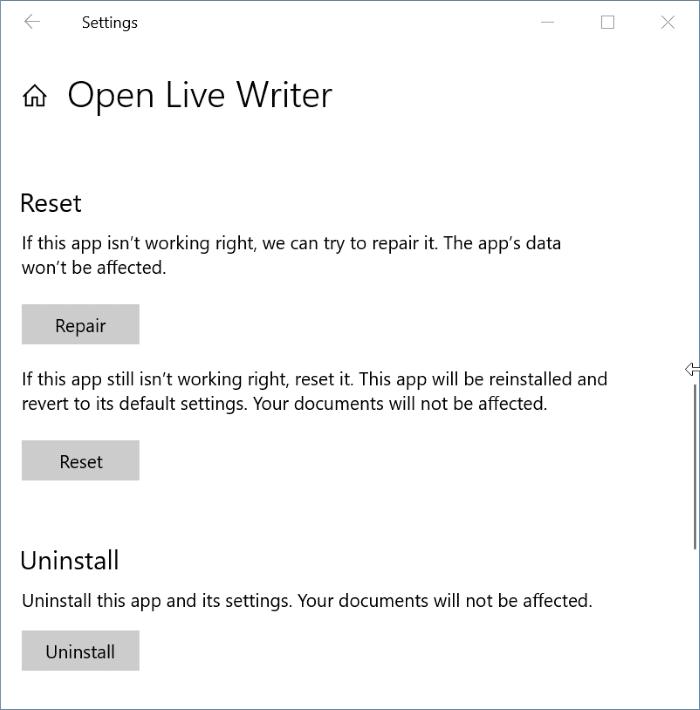 installed app not showing in Start menu