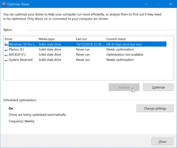 optimize drives1