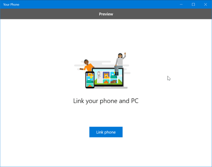 receive and send text messages from your Windows 10 PC pic3
