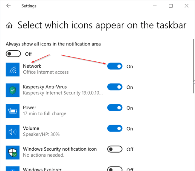 Windows 10 showing ethernet icon instead of Wi Fi pic4