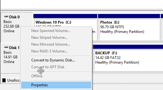 check if your Windows 10 PC has SSD pic2