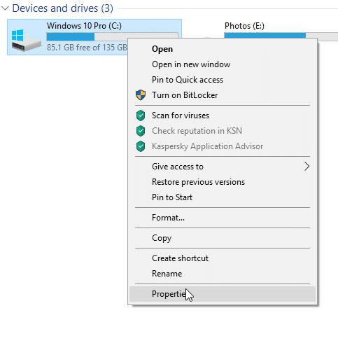 check if your Windows 10 PC has SSD pic4