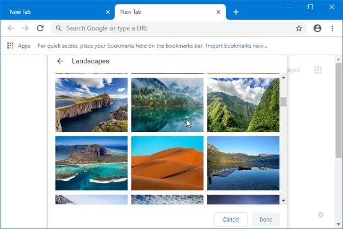 How To Set Picture As Google Chrome New Tab Page Background