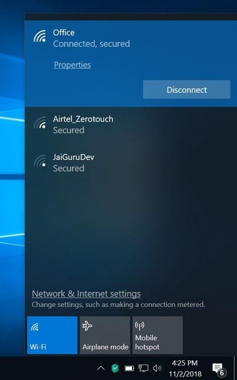 Windows 10 Showing Ethernet Icon Instead Of Wi-Fi In Taskbar