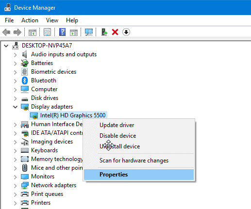 check when a driver was updated in Windows 10 pic2