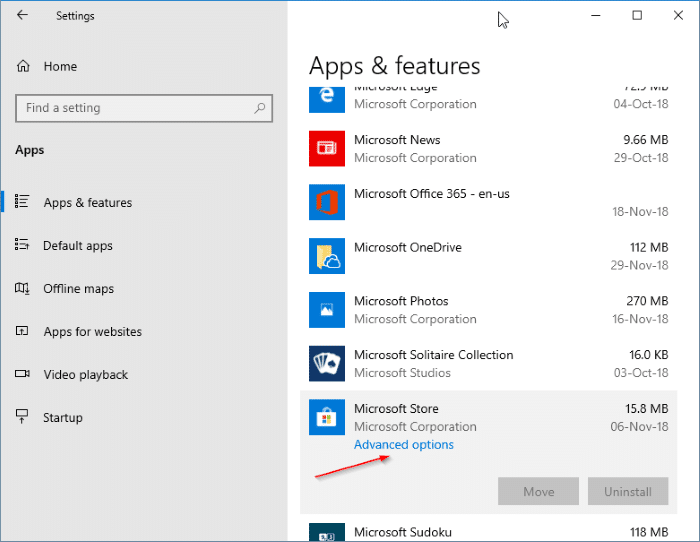 Fix: Search Missing From Store In Windows 10