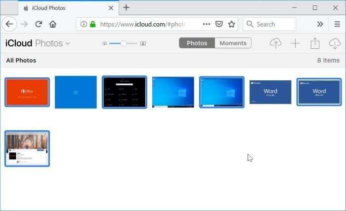 icloud photos download to computer