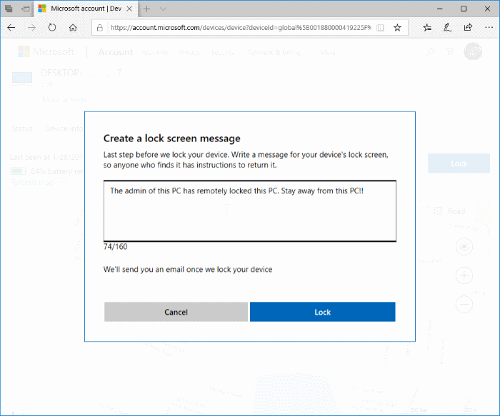 remotely sign out and lock Windows 10 PC pic7