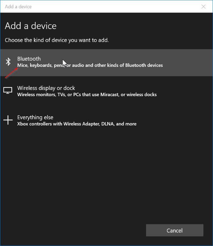set up dynamic lock in Windows 10 pic3