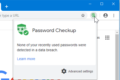 check if your passwords are leaked