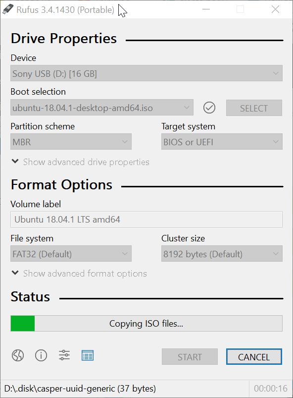 Create bootable Ubuntu USB on Windows 10 pic5