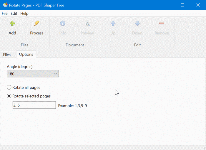 rotate pdf and save in Windows 10 pic7