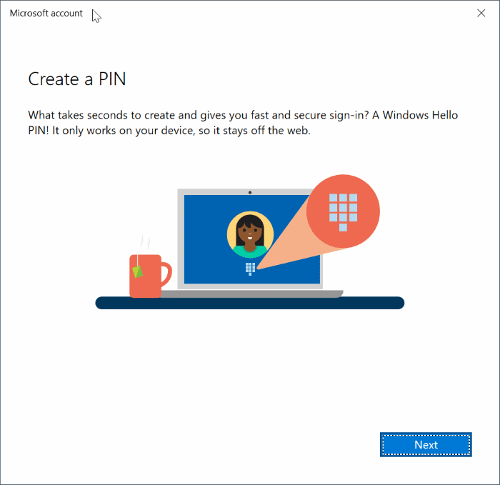 switch between local and Microsoft accounts in Windows 10 pic11