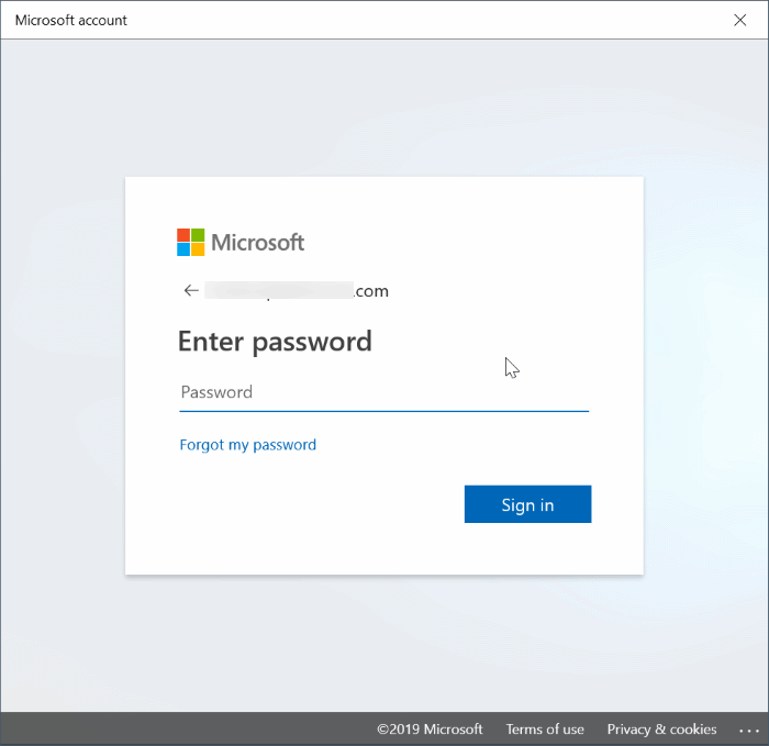 switch between local and Microsoft accounts in Windows 10 pic7