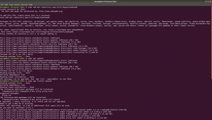 Create Windows 10 Bootable USB on Linux (2)