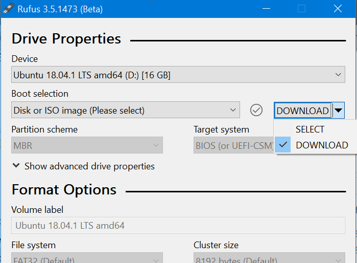 Use Rufus to download Windows 10 ISO pic2
