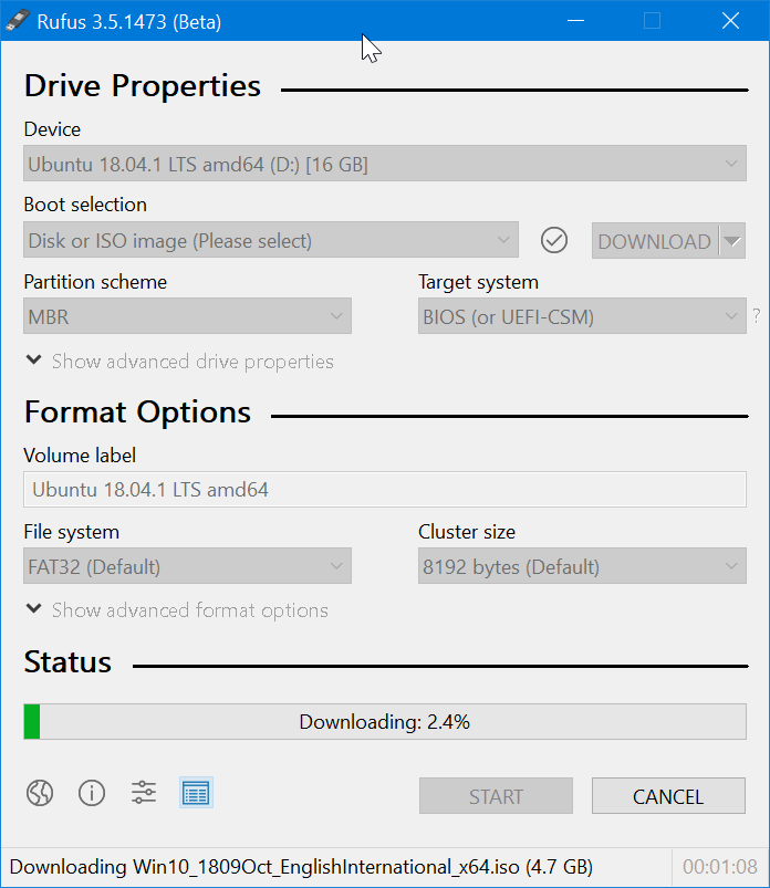 Use Rufus to download Windows 10 ISO pic9
