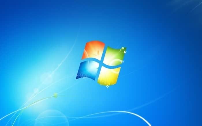 Windows 7 logo wallpaper