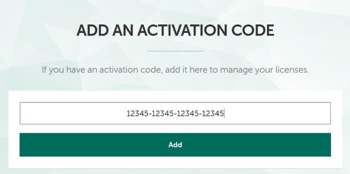 check kaspersky activation code validity