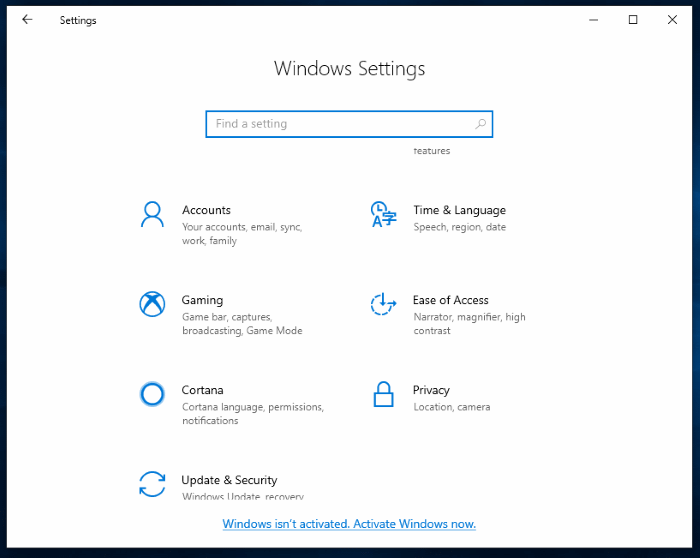 how long can you use Windows 10 without activation pic1
