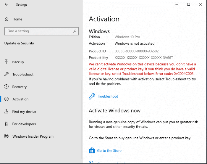 how to buy windows 10 activation key