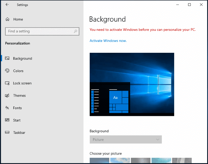 how long can you use Windows 10 without activation pic3