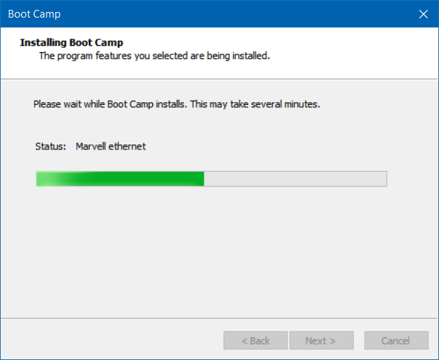 repair and update boot camp drivers in Windows 10 (3)