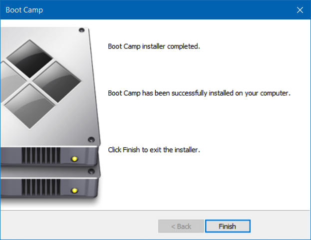 repair and update boot camp drivers in Windows 10 (4)