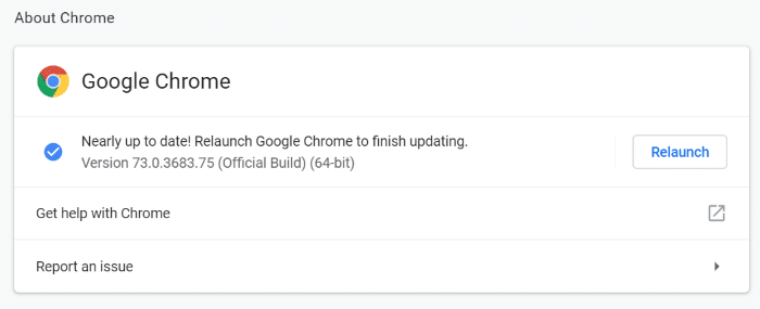 update google chrome in Windows 10 pic4