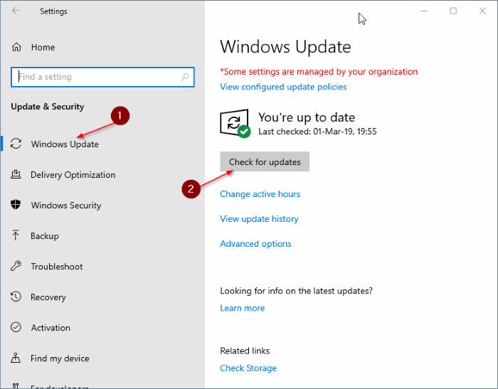 what's the latest version of Windows 10 pic2