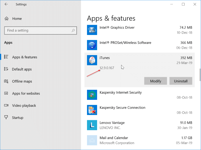 what's the latest version of iTunes for Windows 10 pic2