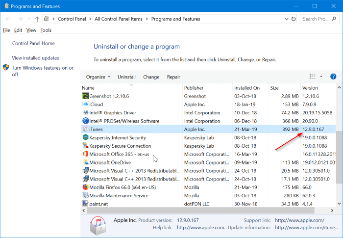 what's the latest version of iTunes for Windows 10 pic3