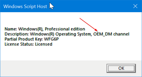 Check If Your Windows 10 License Type Is Retail, OEM, Or Volume