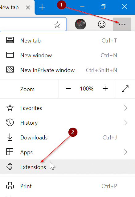 Install Chrome extensions on Microsoft Edge pic01